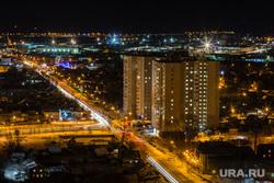 Город ночью. Сургут, сургут, ночь, ночной город, огни города, улица щепеткина, сибпрострой, городской пейзаж