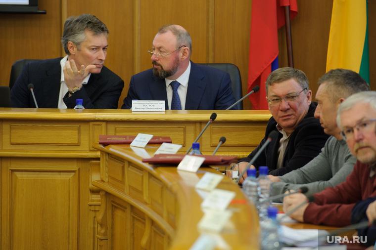 Заседание гордумы Екатеринбурга, ройзман евгений, бородин алексей, тестов виктор