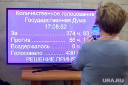 Представление Президентом России Владимиром Путиным Дмитрия Медведева на должность Премьер-министра в Государственной Думе. Москва, голосование, трансляция