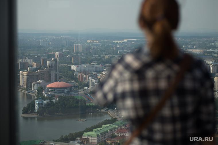 Экскурсия Романа Павлюченко по Екатеринбургу, дивс, смотровая площадка, река исеть