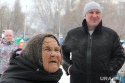 МасленицаКурган, пенсионерка, бабушка, масленица, поколения