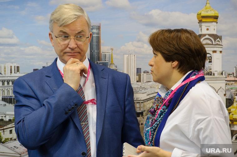 ИННОПРОМ-2017. Второй день. Екатеринбург, матвеев михаил, сибирцева екатерина