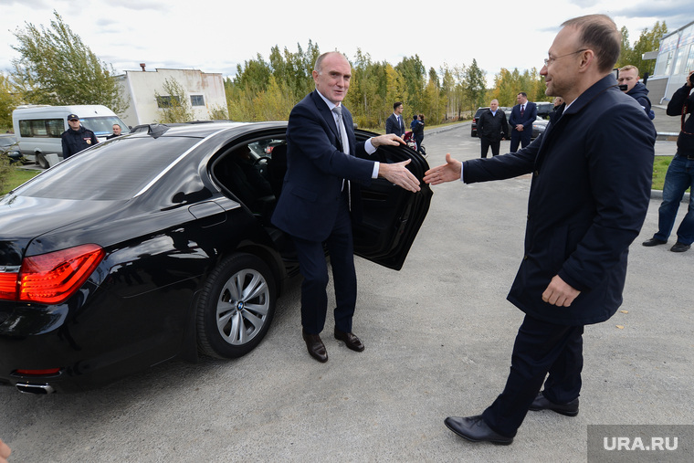 Встреча Бориса Дубровского и Игоря Алтушкина в Карабаше, алтушкин игорь, вип авто, дубровский борис