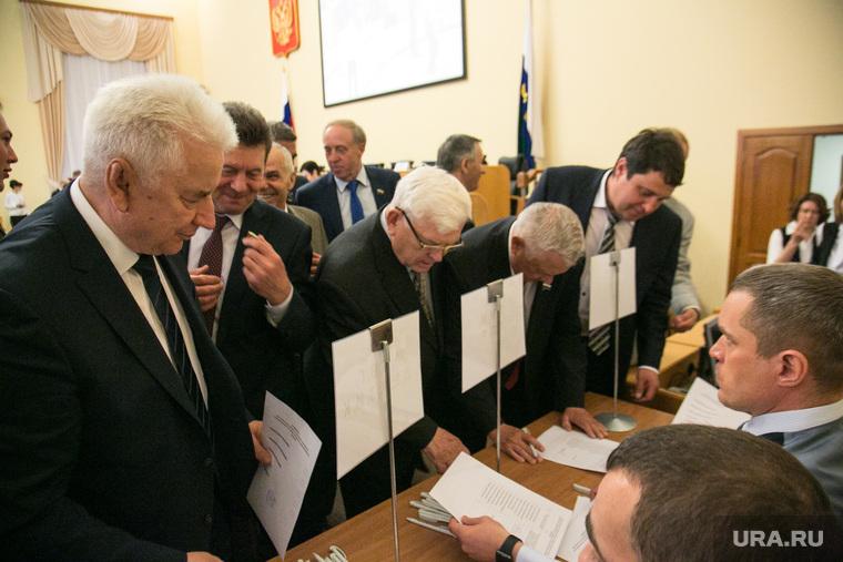 Очередное заседание областной думы тюменской области. Тюмень