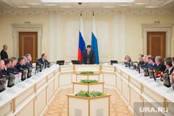 Встреча губернатора с победителями выборов в гордуму Режа. Екатеринбург, резиденция губернатора СО