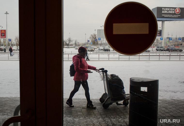 Клипарт, разное. Екатеринбург, аэропорт кольцово, запрет, пассажиры, turkish airlines, авиаперевозчики, пассажирские перевозки
