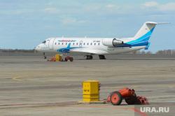 Аэропорт Челябинск, авиакомпания ямал, летное поле, самолет