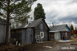 Визит Члена Центрального штаба ОНФ Калининой Светланы. Сургут, деревянные дома, бани