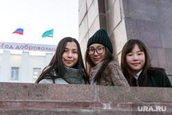 Репортаж про якутских ученых. Якутск, девушки, молодежь, азиатки, якутянки, якуты