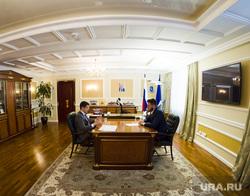 Интервью с врио губернатора ЯНАО Дмитрием Артюховым. Салехард, кабинет губернатора, артюхов дмитрий