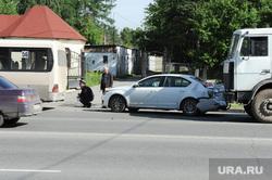 Городские клумбы. Челябинск, дтп, авария, ул худякова