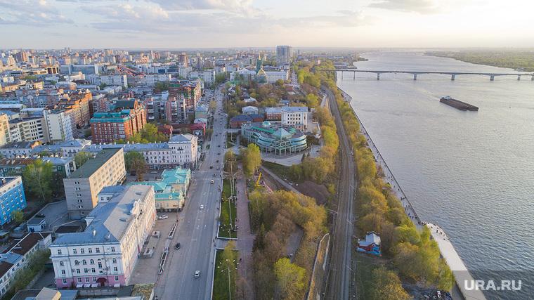 Пермь. Городские пейзажи, кама, город пермь