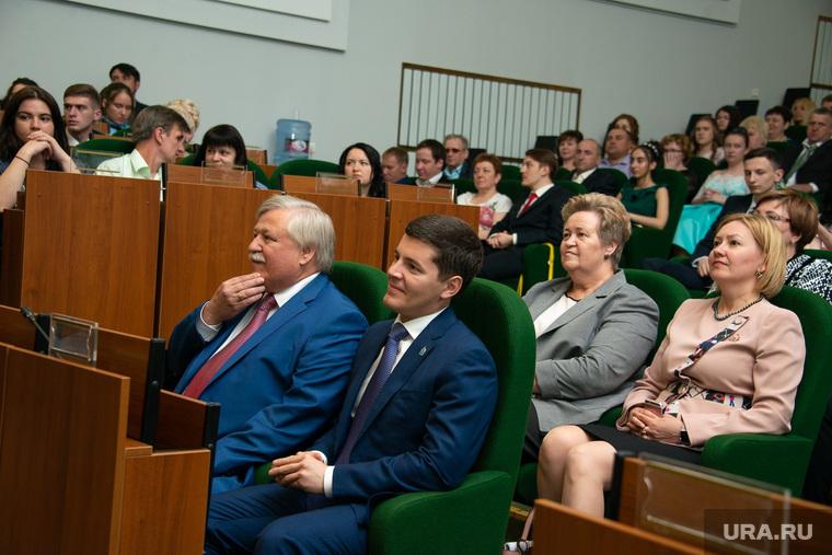 Дмитрий Артюхов Новый Уренгой 23.06.18 Награждение медалистов выпускников
