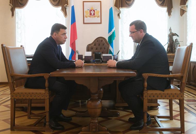 Почему мэрия не расслабляется после встречи Куйвашева и Кожемяко. Соглашение, приведшее Тунгусова в область, отменено им самим