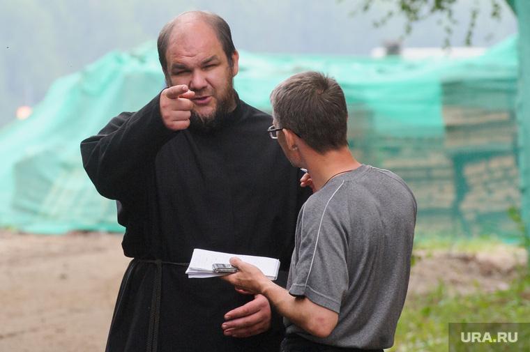 Подготовка к приезду патриарха в Алапаевск, Свердловская область, гусельников андрей, отец серафим