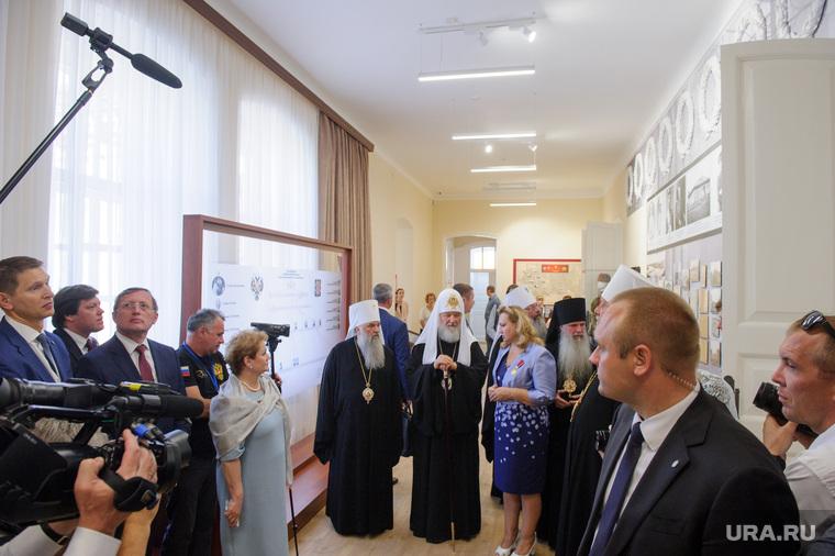 Патриарх Кирилл в Напольной школе. Свердловская область, Алапаевск