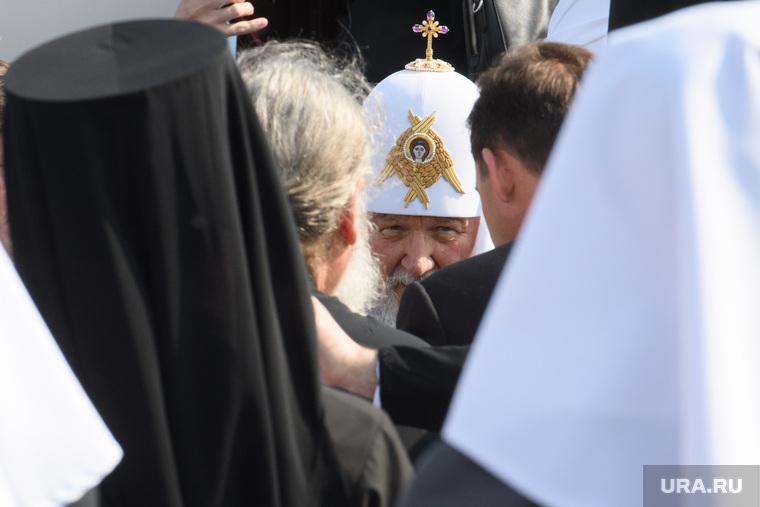 Прибытие Патриарха Кирилла в Екатеринбург, патриарх кирилл