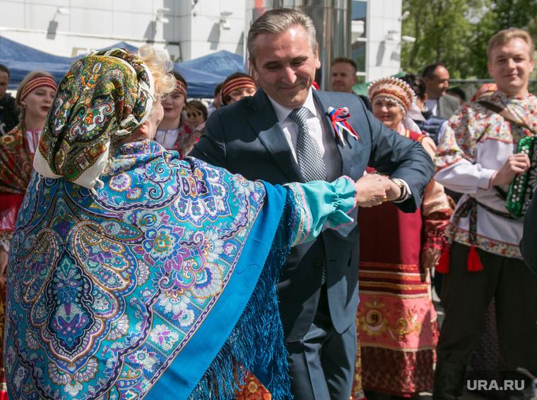 Празднование Дня России. Тюмень, моор александр, народный костюм