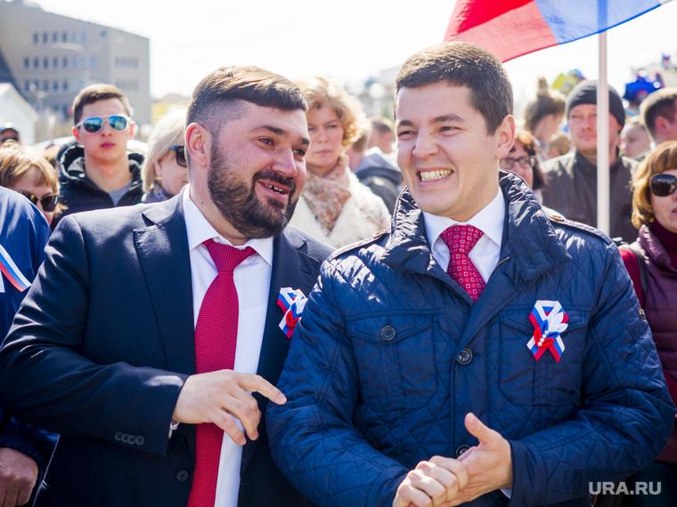 День России в Салехарде, кононенко иван, артюхов дмитрий
