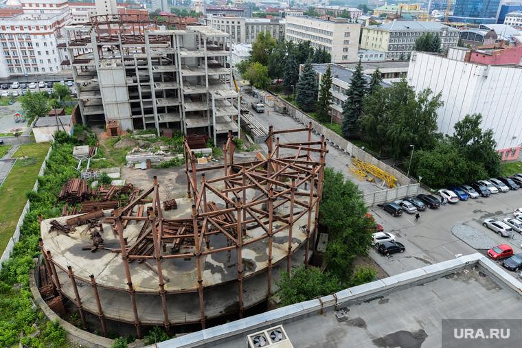 Строительство объектов к саммитам ШОС и БРИКС. Челябинск, стройка, строительство, отель артура никитина