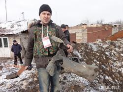 Волонтер Евгений Ганеев в Донбассе, донбасс, ганеев евгений