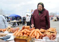 Клипарт. Челябинск, мясо, колбаса, бабушка, базар, рынок, уличная торговля