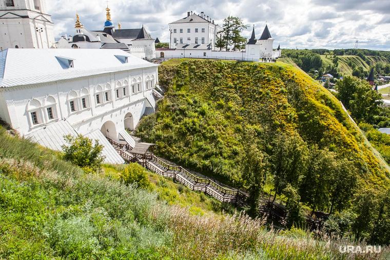 Тобольск. Виды и градоначальник, тобольский кремль