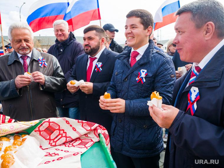 День России в Салехарде, кононенко иван, ямкин сергей, артюхов дмитрий