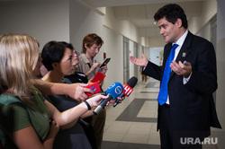 Собеседование с претендентами на должность градоначальника Екатеринбурга, высокинский александр, сми, журналисты, пресс-подход, жест руками