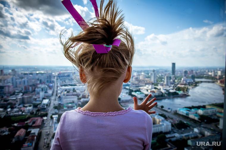 """Смотровая площадка бизнес центра """"Высоцкий"""". Екатеринбург, смотровая площадка, вид с высоты, вид на город, бц высоцкий, панорама города"""