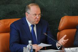 Совещание с полпредом президента Николаем Цукановым. Челябинск, цуканов николай