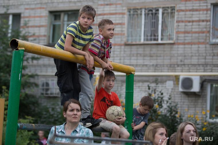 Пожар на ул. 1-ая Заводская, дом 20. Курган, дети, дети во вдоре