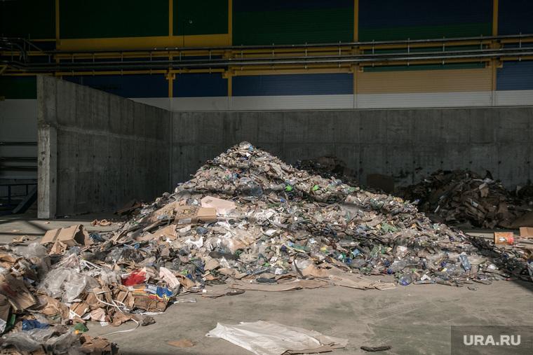 Посещение мусоросортировочного завода Константином Фрумкиным и Денисом Храмовым. Тюмень, мусор, переработка, мусоросортировочный завод