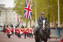 Лондон, Великобритания, конная полиция, лондон, флаг великобритании, лондонская полиция