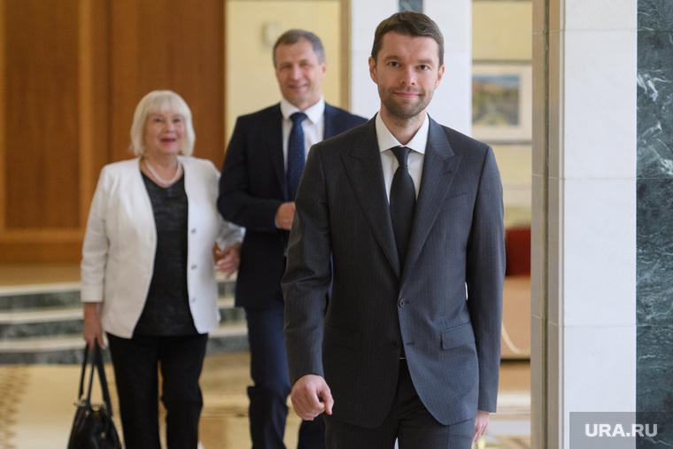 Встреча Евгения Куйвашева с членами фракции ЕР в ЕГД. Екатеринбург
