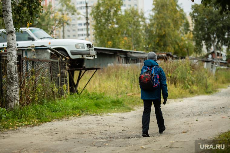 Балочные поселки Взлетный и Черный Мыс. Сургут