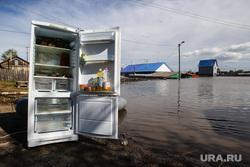 Наводнение в Ишиме 2017 года. Тюменская область, холодильник, наводнение, паводок