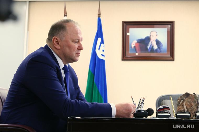 Николай Цуканов в ХМАО, цуканов николай