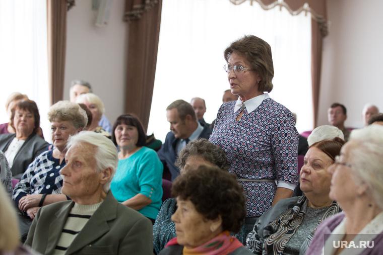 Пленум совета ветеранов. г. Курган, ветераны, участники пленума