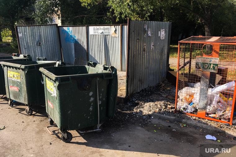 Мусорные кучи. Челябинск, мусорные контейнеры