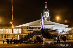 Споттинг в Кольцово. Екатеринбург, аэропорт кольцово, посадка пассажиров, самолет, посадка в самолет