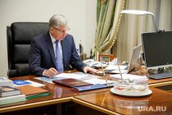 Встреча с Александром Мажаровым в здании правительства ЯНАО. Салехард, мажаров александр, рабочее местро