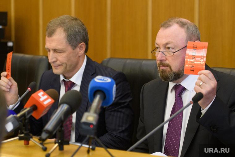 Первое заседание гордумы Екатеринбурга седьмого созыва, тестов виктор, володин игорь