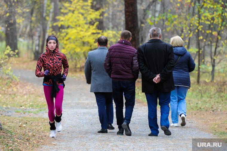 """Открытие """"Зеленой тропы"""" в городском бору. Челябинск, пробежка, зеленая тропа, городской бор"""