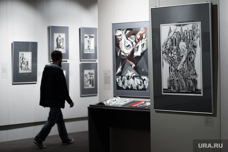 Выставка «Рыцарь книги. Графика Виталия Воловича». Екатеринбург, выставка рыцарь книги, графика виталия воловича