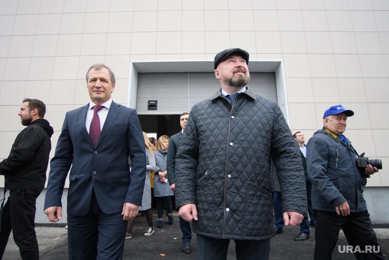 Открытие биогазовой котельной на Северной аэрационной станции. Екатеринбург, тестов виктор, володин игорь
