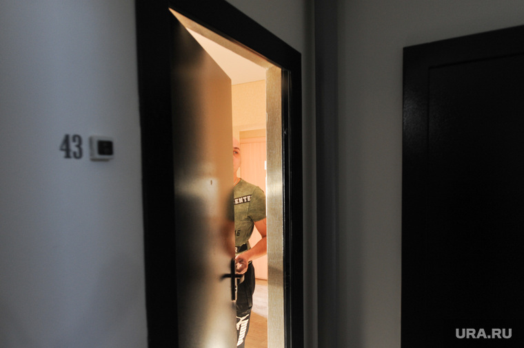 Новостройки Речелстрой и Гринфлайт. Челябинск, дверь, квартира