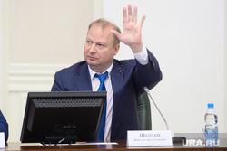 Совещание с представителями партий УрФО в полпредстве. Екатеринбург, шептий виктор, приветствие, жест рукой