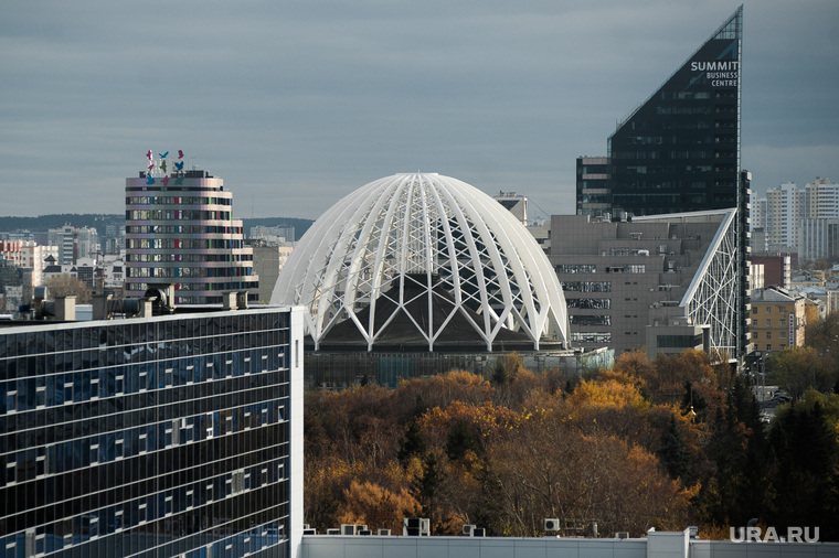 Виды Екатеринбурга, цирк, бц саммит, жк артек, город екатеринбург