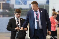 ИННОПРОМ-2018. Первый день международной выставки. Екатеринбург, детченя иван, козлов василий